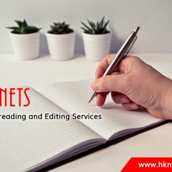 English editing